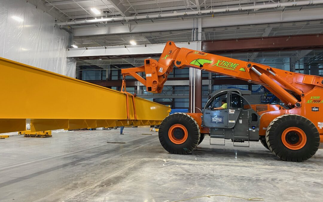 IT'S HERE – THE XR7038 FORKLIFT