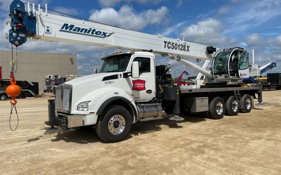 RRCS just added a new Manitex TC50128X